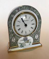 Wedgwood Bone China 'Humming Birds' Mantel Clock - Good Working Order