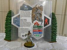 Heroscape Custom Cyborg Double Sided Card & Figure w/ Sleeve DC