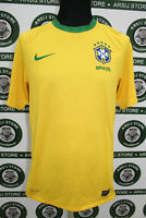 Maglia calcio BRASILE TG S 2010/11 shirt trikot camiseta maillot jersey