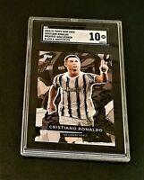 2021 Topps Now  CRISTIANO RONALDO  BLACK PAR Greatest Goal Scorer  87/93  SGC 10