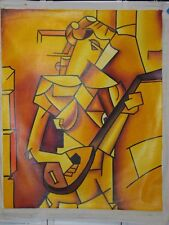 CUBAN Art Oil Oleo Painting Arte Cubano Artist  CUBAN CUBISM