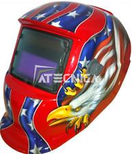 Maschera lcd autoscurante Atecnica MEGA600 per saldatura elettrodo MIG MAG TIG