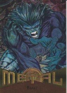 1995 MARVEL METAL1995  BY FLEER     SINGLE /BASE / BASIC CARD  CHOOSE 001 TO 138