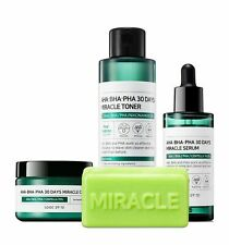 SOME BY MI AHA BHA PHA 30 Days Miracle Toner, Serum, Cream, Cleansing Bar