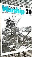 PROFILE WARSHIP #30: IJN YAMATO AND MUSASHI: BATTLESHIP (1973)