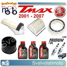 KIT TAGLIANDO TMAX 2001 3 LT 300V + FILTRI ARIA + FILTRO OLIO + CANDELE IRIDIUM