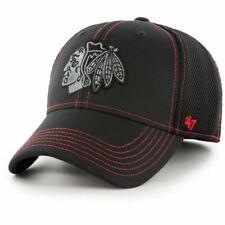 47 Brand Stretch Cap - STRONAUT Chicago Blackhawks schwarz