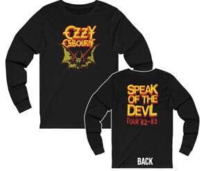 Ozzy Osbourne 1982 – 83 Speak of The Devil Tour Long Sleeved Shirt