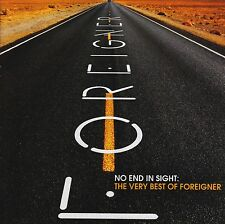 FOREIGNER (2 CD) NO END IN SIGHT : THE VERY BEST OF ~ GREATEST HITS *NEW*