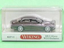 1:87 Wiking 022703 MB E-Klasse W 213 Exclusive - citrinbraun-metallic