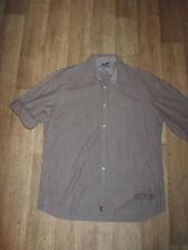 Gestreifte Herren-Freizeithemden & -Shirts mit Krempelärmeln aus Baumwolle