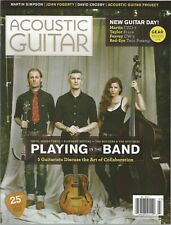 Acoustic Guitar magazine March 2014 - Playing in The Band