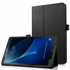 "Black Flip PU Leather Case Cover For Samsung Galaxy Tab A 8.0"" SM-T350 T355 T357"