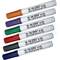 Jumbo Whiteboard Marker Dry Wipe Flipchart Whiteboard Black Markers Pen 2-10 QTY