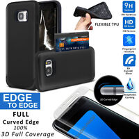 360° Full Shockproof Hard Case Cover Tempered Glass Fr Samsung Galaxy S7/S7 Edge
