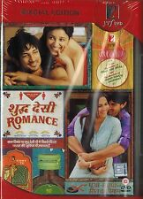 SHUDDH DESI ROMANCE - BOLLYWOOD 2 DISC ORIGINAL DVD - FREE POST