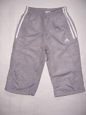Adidas PANTACOURT enfant polyester neuf taille 14 ans coloris gris acier