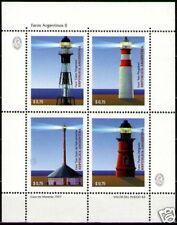 Argentina 1997 Sc1963 Mi2351-54 1ms mnh Lighthouses