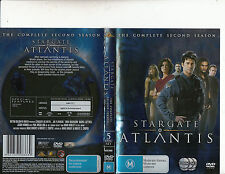 Stargate Atlantis-2004/9-TV Series USA-The Complete Second Series-[5 Disc]-DVD