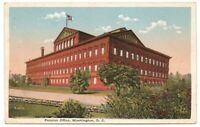 Pension Office Building Washington DC Vintage Postcard White Border