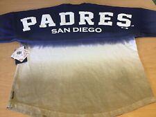 NEW MLB San Diego Padres Spirit Jersey Fanatics Long Sleeve Shirt Med Baseball