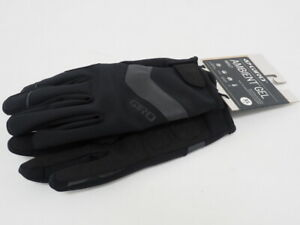 New! Giro Ambient Gel Full Finger Winter Cycling Gloves Size Extra Large Black