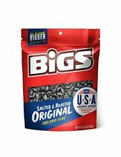 New listing Bigs Salted & Roasted Original Sunflower Seeds Keto Friendly Snack Low Carb L.