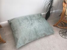 Cover Only Beanbag floor cushion COVER ONLY silver faux fur large 3cf size new