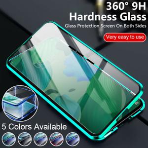 Funda 360° Para Xiaomi Mi 11 Lite 10T Pro Vidrio Templado De Adsorción Magnética
