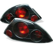 Spyder Auto Euro Style Tail Lights-Black For 2000-02 Mitsubishi Eclipse #5006288