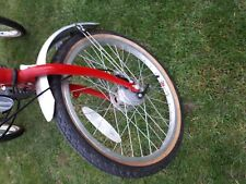 PASHLEY TRI-1 ADULT FOLDING TRIKE, Red in colour hardly used