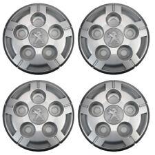"4 Genuine Peugeot Boxer 15"" Wheel Trim Hub centre cap Nut covers 2006 to now"