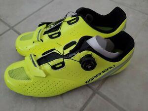 Louis Garneau Carbon LS-100 II Cycling Shoe - Men's Yellow/Black, 44