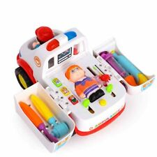 Baby Toys Ambulance with Music/Light/Small Parts for Children & Kids Boys Girls