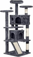 """New listing 53"""" Cat Tree Condo Tower Pet Kitty Play Climbing Furniture w/ Scratching Post"""
