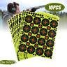 10pcs Shooting Targets Paper Reactive Splatter Target Sticker 5x5cm(2x2'')