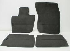Nylon Carpet Coverking Custom Fit Front and Rear Floor Mats for Select Lincoln Versailles Models CFMBX1LN9219 Black
