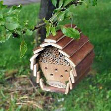 & Insetti Api Hotel CASA BOX in legno da appendere nidificare BUG COCCINELLA GIARDINO (hotel2)