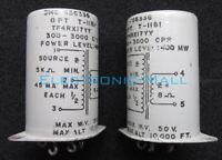 1 Pair of U.S. UTC Military 5K:8 Ω Nickel Alloy Output Transformer 4 Vintage AMP