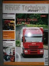 Iveco STRALIS AT AD - 270 300 310 350 ch : revue technique RTD 256