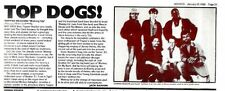 25/1/86pg25 Review & Picture : Topper Headon