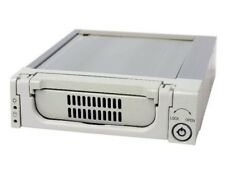 "Aluminum 5.25"" To (3.5"" SAS/SATA HDD)(Tray Mobile Rack)Beige color MR-135-WH NEW"