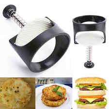 Plastic Non-Stick Kitchen Stuffed Burger Press Hamburger Patty Maker Sliders