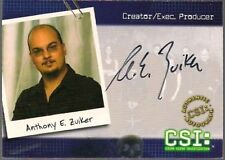 CSI SERIES 2 CREATOR EXECUTIVE PRODUCER ANTHONY E. ZUIKER AUTO AUTOGRAPH CSI-B11