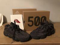 Yeezy 500 Utility Black UK Size 8.5 IN HAND Deadstock