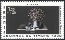 France 1980 Stamp Day/Art/Abstract/Contemporary Painting/Artists 1v (n43415)