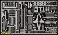 Fotoätzteile für 1:350 USS Hornet CV-8 - Trumpeter 05601 - Eduard 53005