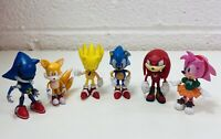 6x 7cm Sonic The Hedgehog Figures Kids Toys Set Collectibles