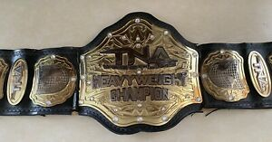 TNA Wrestling Heavyweight Champion Replica Belt Adult Size Pre-Owned