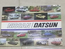 Nissan Datsun Range,Cherry,Sunny,Stanza,Bluebird,Laurel,280C,280ZX,Patrol,1982